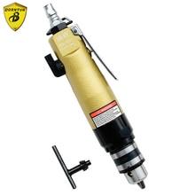 Borntun 1.5-10mm Pneumatic Air Drill Bores Gun with F-R Switch Pneumatic Drills Boring Tools Air Drilling for Woodwork Metalwork