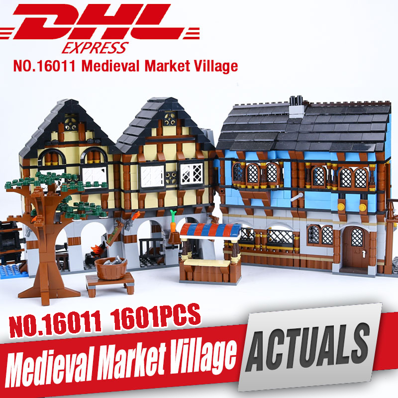 DHL Lepin 16011 Castle Series The Medieval Manor Castle Set legoing 10193 Educational Building Blocks Bricks Model Toys as Gift new lepin 01018 515pcs girl series castle educational building blocks bricks toys gril toy