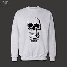 シャーロック homles頭蓋骨上壁オリジナル デザイン男性ユニ セックス 360gsm 10.3 オンス プルオーバー sweatershirt 82%綿フリース送料無料