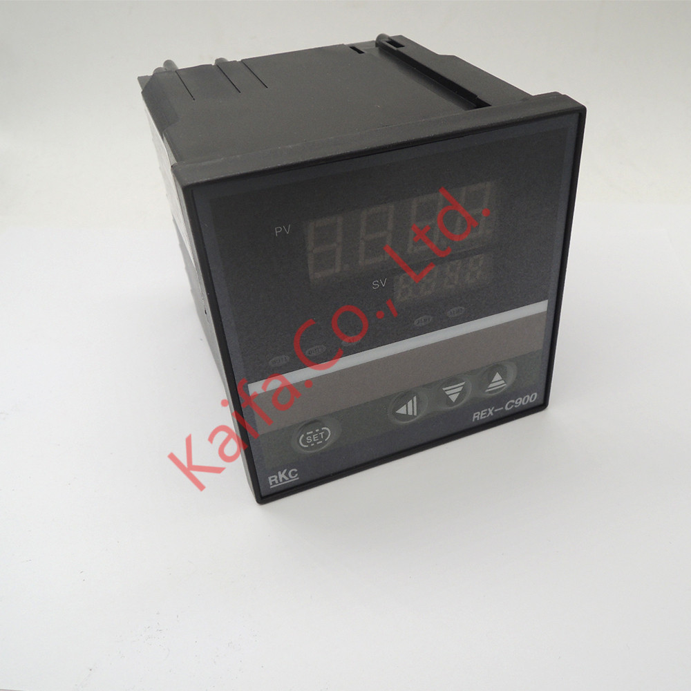 ,New Dual Digital PID Temperature Controller REX-C900 with multi-range Input SSR Output,100V~240V AC set of pid digital temperature thermostat regulator controller rex c100 with ssr output thermocouple k solid state relay ssr 40a