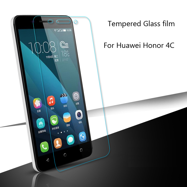 Tempered Glass Screen Protector Protective Film For Huawei Honor 3X 3C Lite 4 4C Y6 Pro 4X 5 Play 5C 5X/Enjoy 5 5S/Holly 2 Plus