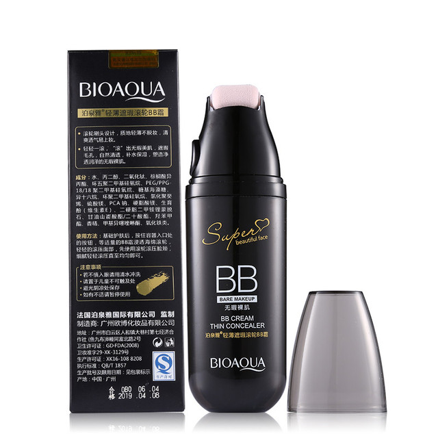 Magic Roller Foundation Air Cushion BB Cream Concealer Moisturizing Foundation Makeup Bare Whitening Face Beauty Makeup Cosmetic 5