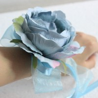 Hand flowers Wrist Corsage Bridesmaid Sisters Artificial Bride Flowers For Wedding Party Decoration Bridal Prom