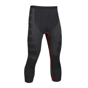 Mens Compression Pants Bodybuilding Jogger Fitness Exercise Slim Leggings Tights Trousers Quick Dry Brand Clothing