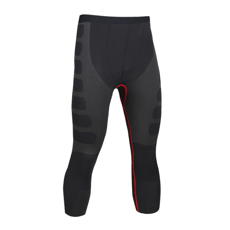 Mens Compression Pants Bodybuilding Jogger font b Fitness b font Exercise Slim Leggings Compression Tights Trousers