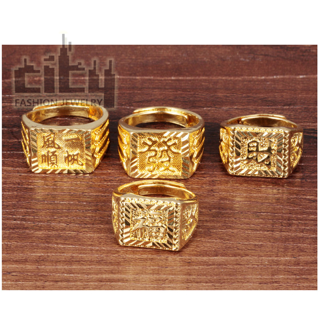 CITY Fashion Jewelry Accessories Man Lucky Fortune Design In