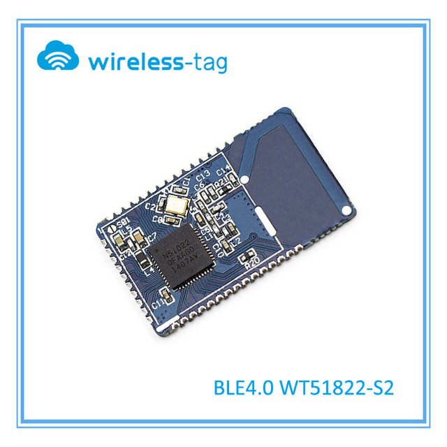 2015 NEW Low power consumption BLE4.0 module with 2.4GHz PCB antenna16*28mm Free sample