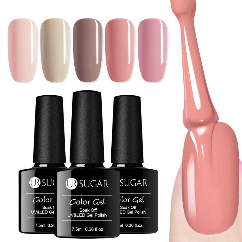 Aliexpress.com : Buy UR SUGAR 7.5ml Pure Color Gel Nail