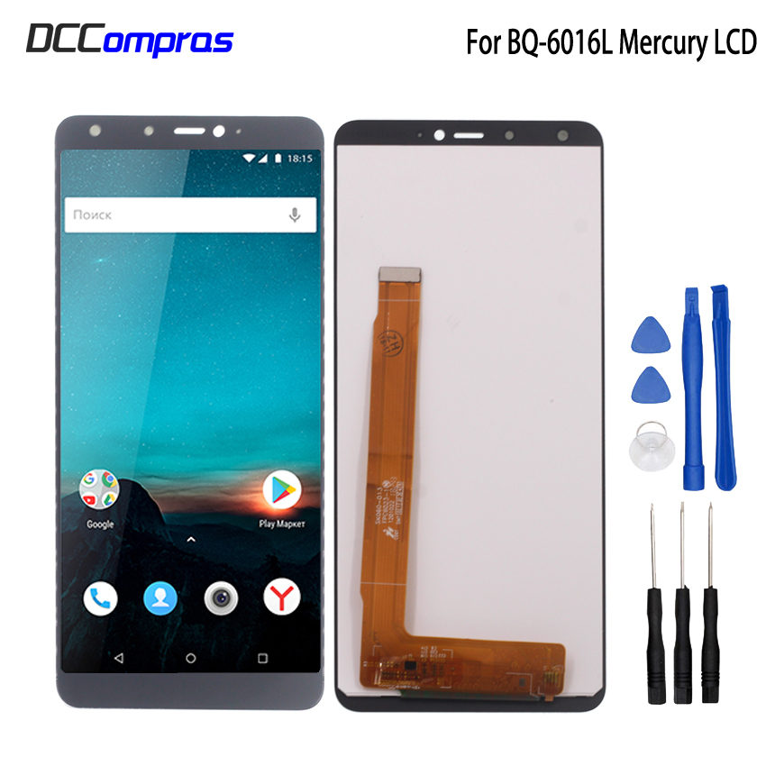 For BQ-6016L MERCURY LCD Display Touch Screen Digitizer Replacement For BQ 6016L MERCURY Phone Parts With Free ToolsFor BQ-6016L MERCURY LCD Display Touch Screen Digitizer Replacement For BQ 6016L MERCURY Phone Parts With Free Tools