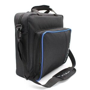 Image 1 - Funda protectora de lona para PS5/PS4 Pro Slim, bolso de hombro, tamaño Original para consola PlayStation 4, PS4 Pro