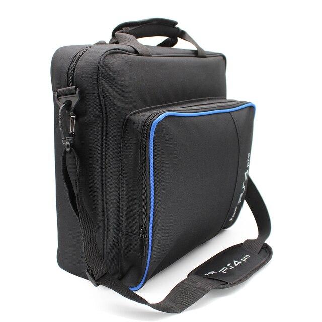 Для PS4/PS4 Pro тонкая игровая сумка из ткани защитная сумка на плече сумочка оригинальный размер для playstation 4 PS4 Pro консоль