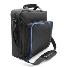 Para ps5/ps4 pro fino mi jogo saco da lona caso proteger ombro bolsa de transporte tamanho original para playstation 4 ps4 pro console