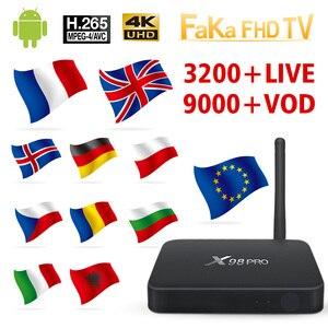 Image 1 - Italy France IPTV X98 Pro 1 month Free IP TV Turkey Ex Yu Arabic IPTV Subscription TV Box Germany Italian IPTV Canada France UK