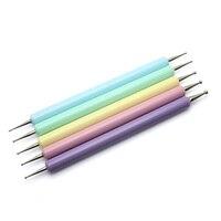 5 Pcs/Set 2 Way Dotting Pen Painting Nail Art Tip Dot Paint Manicure Tools Kit New Fashion 88 SK88