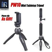 PW10 INNOREL многофункциональный мини настольный штатив держатель для селфи-палки держатель для телефона беззеркальные камеры сотовые телефоны DSLR