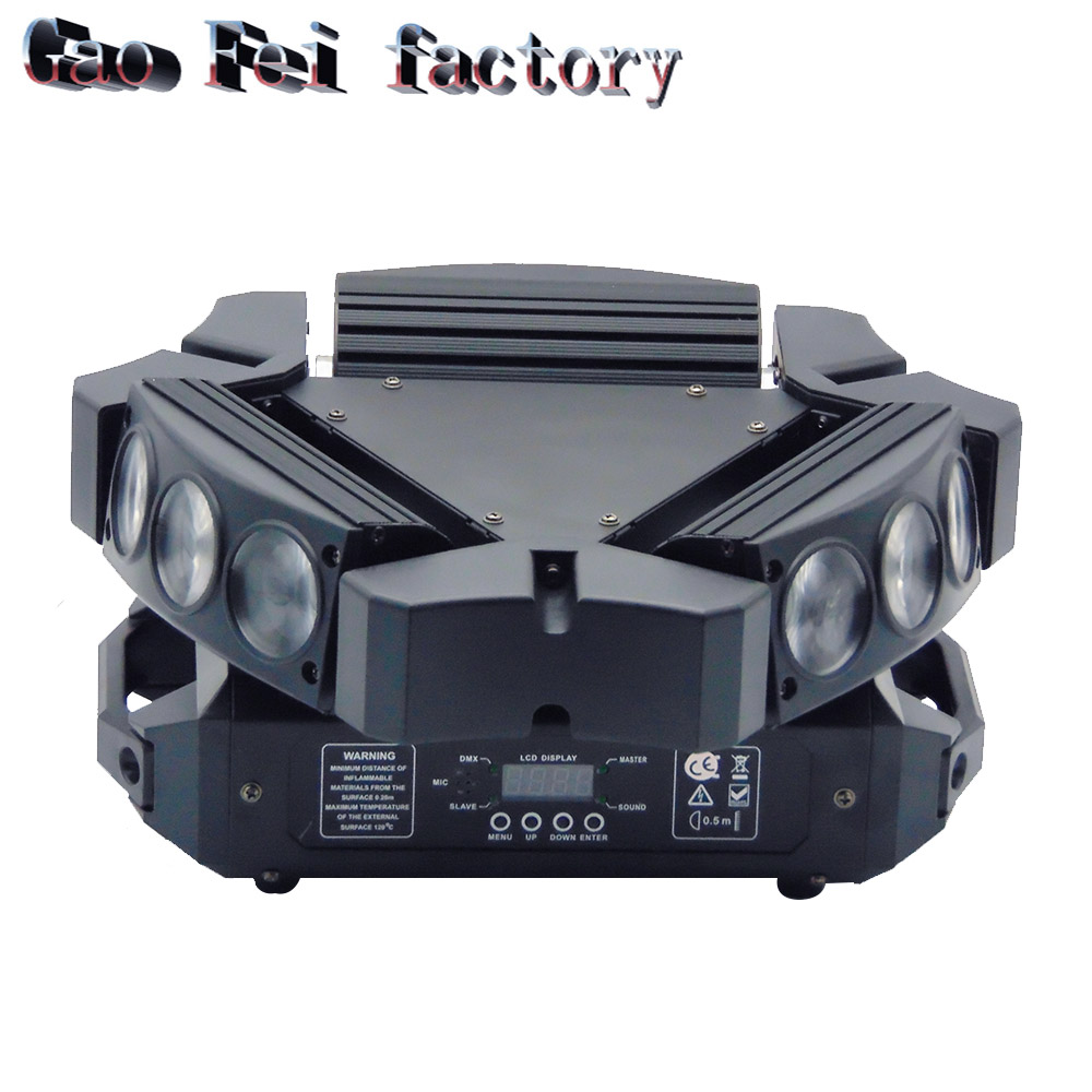 1pcs/lot Mini 9X10W RGB 9 Eyes Super Beam Moving head Lights1pcs/lot Mini 9X10W RGB 9 Eyes Super Beam Moving head Lights