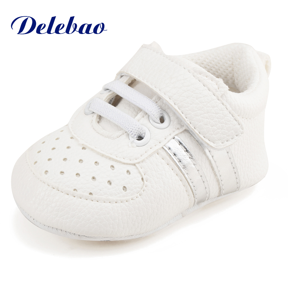 Delebao Slip-on Shallow Baby Shoes Soft Downy Warm Winter Newborn Baby Boy Shoes Soft Sole Cotton Infant Toddlers First Walkers soft baby boy girl shoes autumn winter cotton infant toddler anti slip first walkers cute slippers prewalker shoes for children
