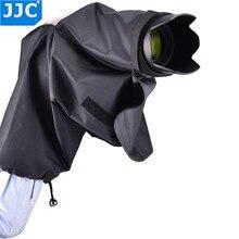 JJC גשם מעיל כיסוי אבק מגן עבור ניקון D7100 D7000 D5300 D5200 D5100 D3300 D3200 D3100 D750 D610 D300s F80 f65
