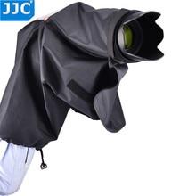 Jjc capa de chuva protetor poeira para nikon d7100 d7000 d5300 d5200 d5100 d3200 d3100 d750 d610 d300s f80 f65
