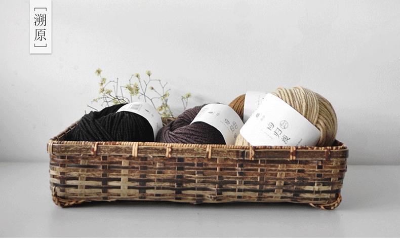 50g+100MPC 100% Merino Wool Yarn Middle Thick Yarns For Hand Knitting High Quality Warm Wool Yarns Hat Scarf Yarns For Knitting (1)