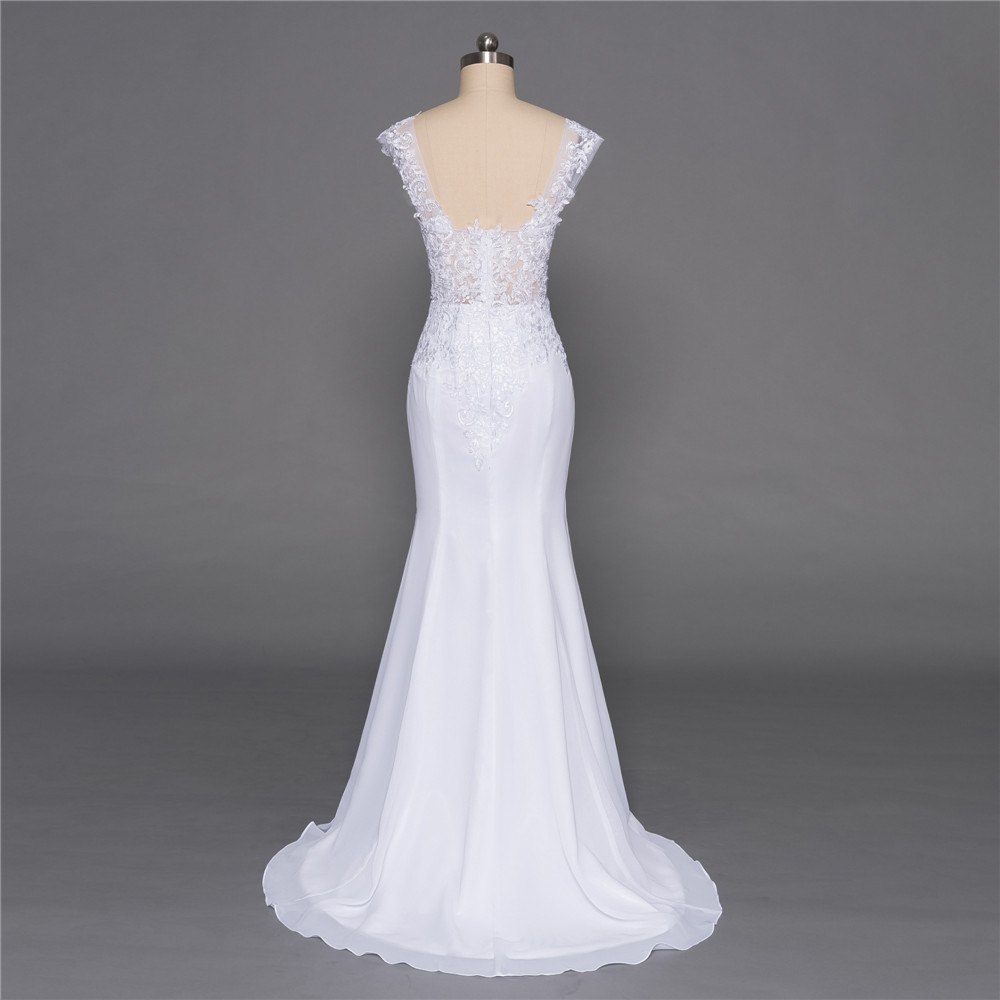 Backless-Vestido-De-Noiva-2018-Beach-Wedding-Dresses-Mermaid-Deep-V-neck-Appliques-Lace-Cheap-Boho (2)