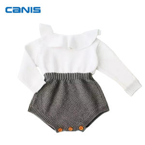 f09e6f9f5915 WANGSCANIS Knitting Romper Kids JUmpsuit Winter Clothes
