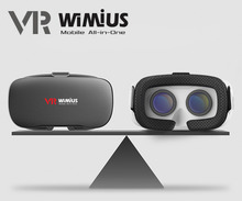 Wimius All In One VR Headset 3D Glasses Immersive Virtual Reality Android VR BOX Wifi Bluetooth 360D 1080P Full HD 5.5″ Display