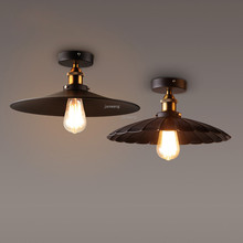 Скандинавский светодиодный потолочный светильник Лофт промышленный ветер потолочный свет ресторан ретро декоративный потолок лампа в спальне Кухонные светильники