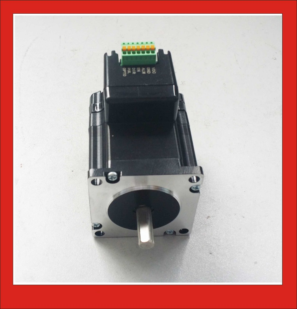 2 Phase Integrated Driver Motor NEMA23 Stepper 24VDC 2.5A 1.1N.m Holding Torque PUL+DIR Control2 Phase Integrated Driver Motor NEMA23 Stepper 24VDC 2.5A 1.1N.m Holding Torque PUL+DIR Control