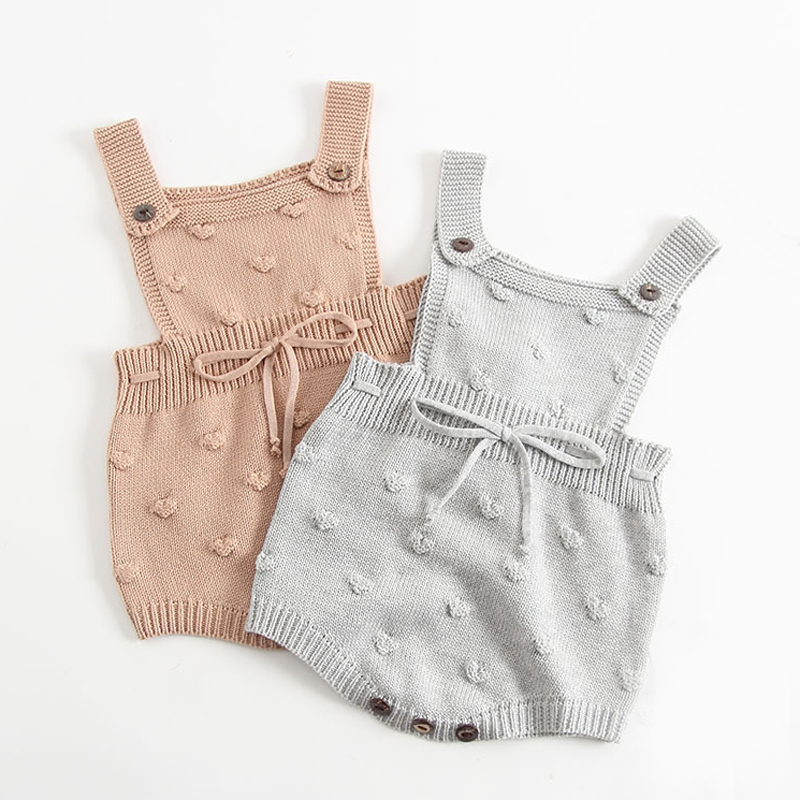 Soly Tech Baby Girl Rompers Jumpsuit Half Sleeve Buttons Bloomers Overalls Pants