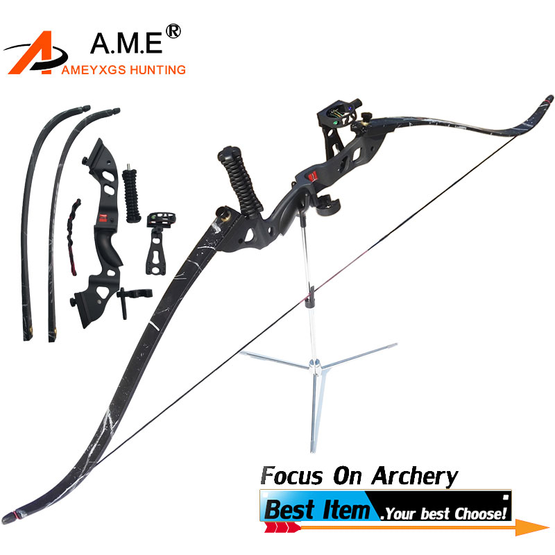 1 Set 60 Recurve Bow Draw Weight 35/40/45lbs Bow Archery Arrow Camping 5 pins Sight Arrow Rest Tack Drown Crossbow Shooting1 Set 60 Recurve Bow Draw Weight 35/40/45lbs Bow Archery Arrow Camping 5 pins Sight Arrow Rest Tack Drown Crossbow Shooting