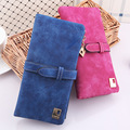 Fashion Genuine Leather Wallets Women Trends Multi-card Position Wallet Lady Long Purse Card Candy Color Wallets