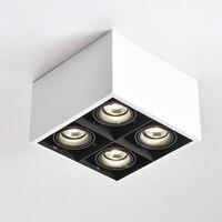 LED Ceiling Lights spot LED lamps illumination GU10 4*5W led bulbs mount ceiling light lamp decorations Lighting for living room