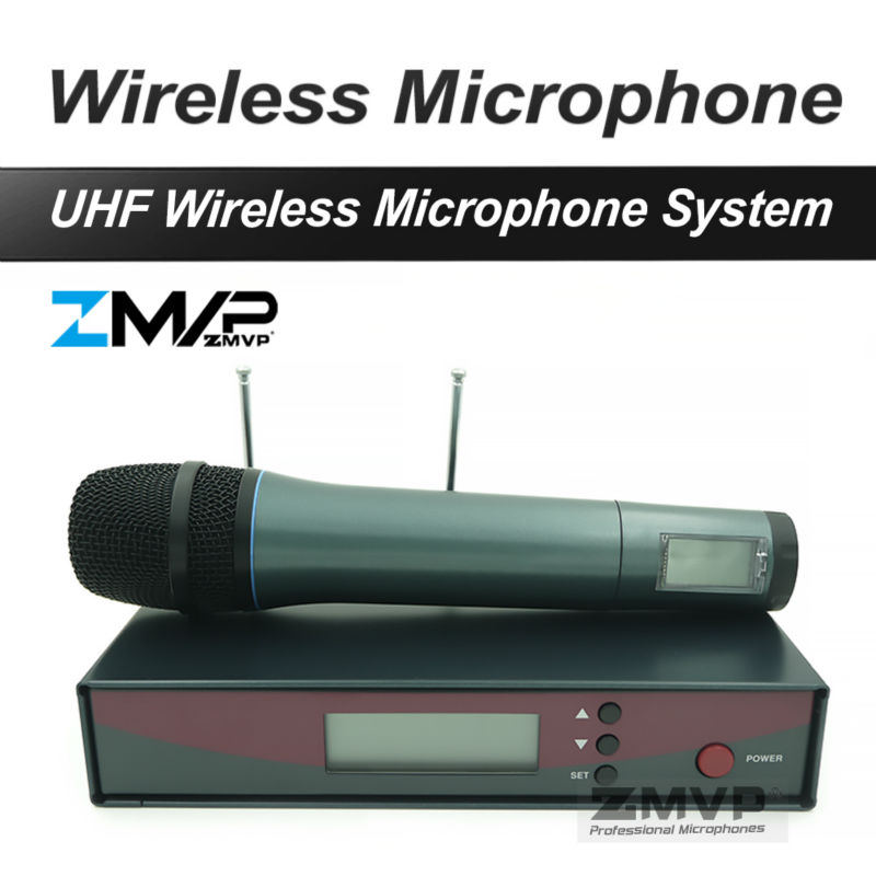 Free Shipping! Professional 135 G2 UHF Wireless Microphone Vocals Speech Karaoke Wireless System with Handhold Transmitter free shipping uhf professional s24 b 58 wireless microphone cordless karaoke system with handheld transmitter band r5 800 820mhz