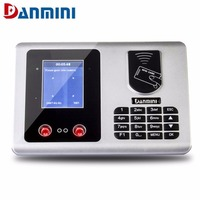Danmini A502 2.8inch TFT Free software Face ID Card Recognition Attendance Machine Employee Attendance Recorder US EU UK AU Plug