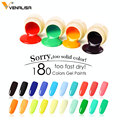 2019 Venalisa arte de uñas Consejos profesional de diseño de uñas manicura cosmética 180 colores uv led de pintura de esmalte de uñas laca geles
