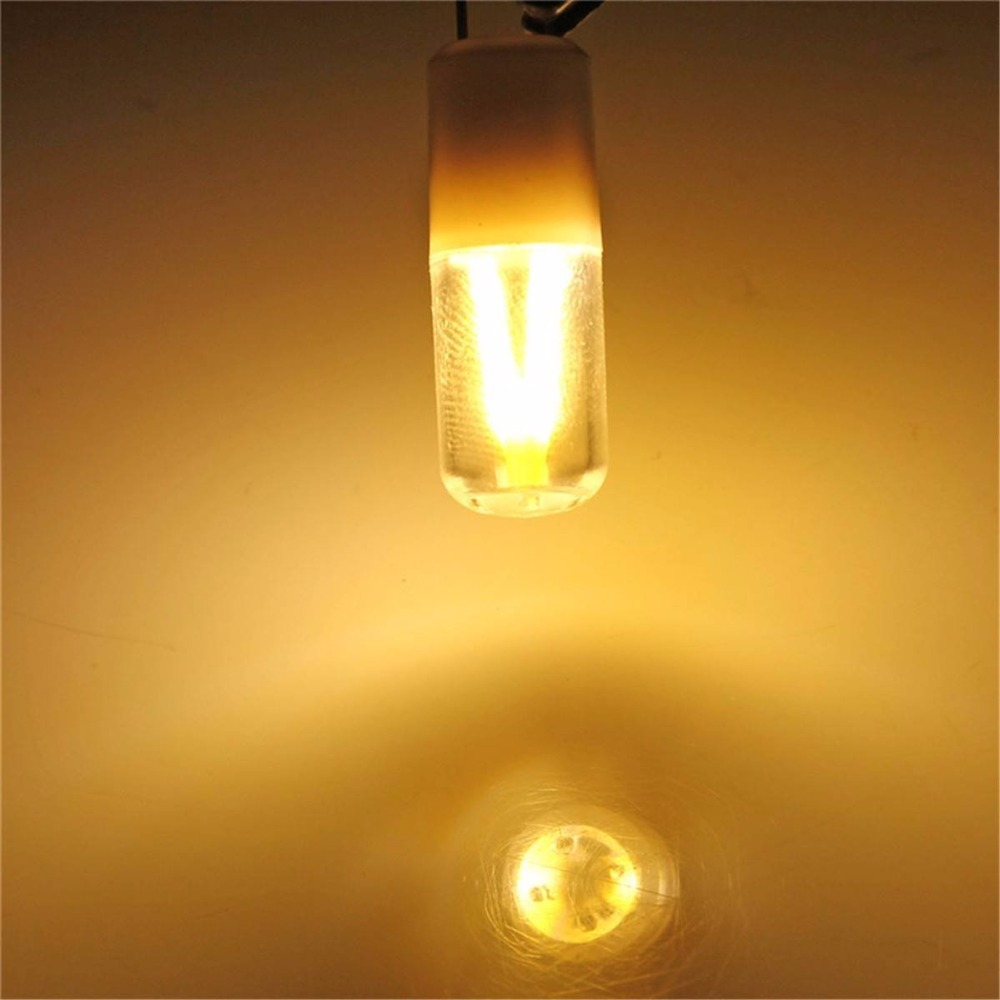 Aliexpress buy 5pcs g4 light bulb acdc12v 3w cob filament aliexpress buy 5pcs g4 light bulb acdc12v 3w cob filament led chandelier lamp 180lm for home warm light white color from reliable light bulb arubaitofo Gallery