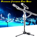 Professional Tripod Fold Holder Dynamic Studio Microphone Stand Floor Condenser Mic Stand For Microphone Wireless Karaoke Stage