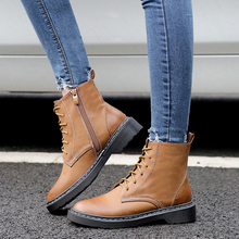 Fashion Winter Boots Women Dr Martin boots Plus Size Shoes Woman Doc Martins  Flat With Ankle 32600a8fad45