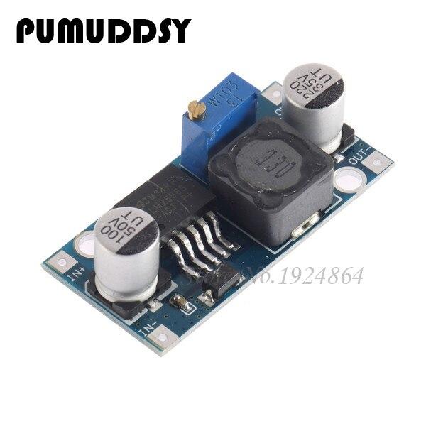 5pcs DC-DC Step Down Converter Module LM2596 DC 4.0~40 to 1.3-37V Adjustable Voltage Regulator Hot sale