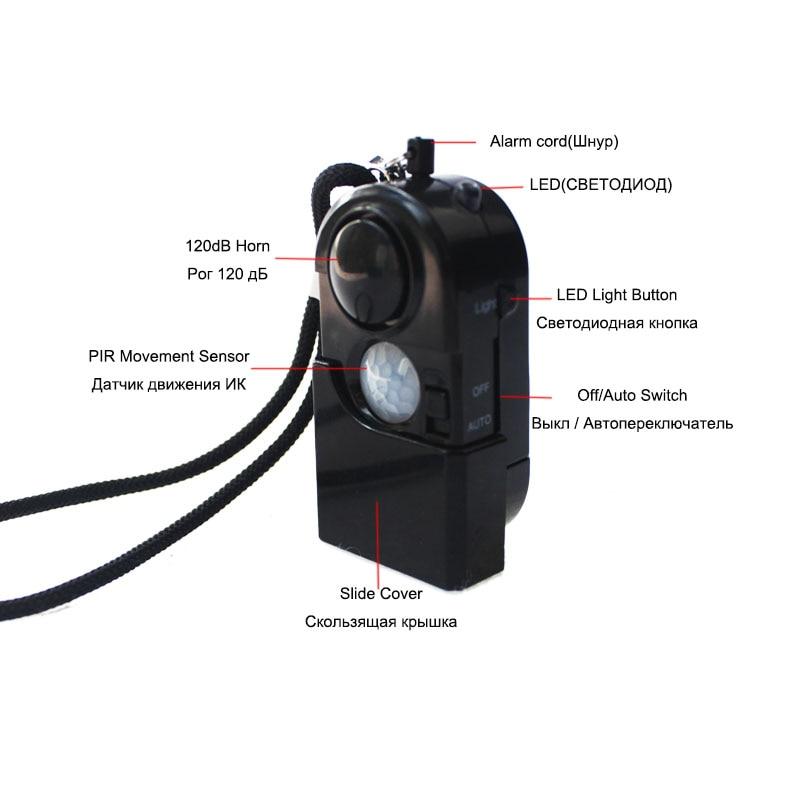 Topvico-PIR-Infrared-Motion-Detector-Sensor-Alarm-Mini-SOS-Alarm-Camping-Travel-120dB-Wireless-Home-Security (1)