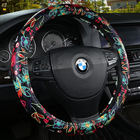 Car Steering Wheel Cover Leather Size 38cm For VW Skoda Chevrolet Ford Nissan etc. 95% Cars Free Shipping