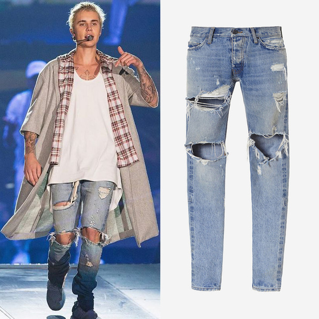 Ripped Destroyed Jeans Promotion-Shop for Promotional Ripped