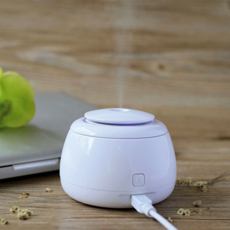Mini Humidifier USB Mist Maker Mist Discharge Ultrasonic Humidifier Humidification Humidistat 5V 80ML For Home Office