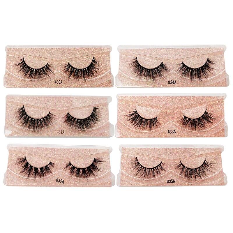 YSDO 1 pair 3d mink eyelashes natural hair long lashes winged eyelashes dramatic lashes thick mink false eyelashes fluffy lashes in False Eyelashes from Beauty Health