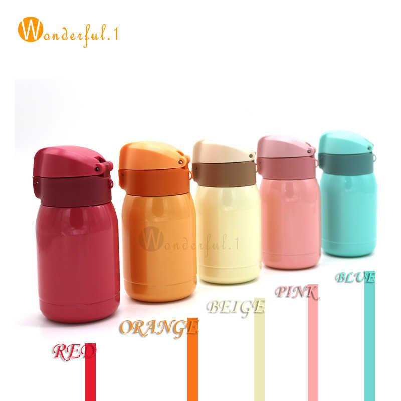 200/350 ML Kopi Mug termos termos Stainless steel botol air termos termos minum gratis pengiriman