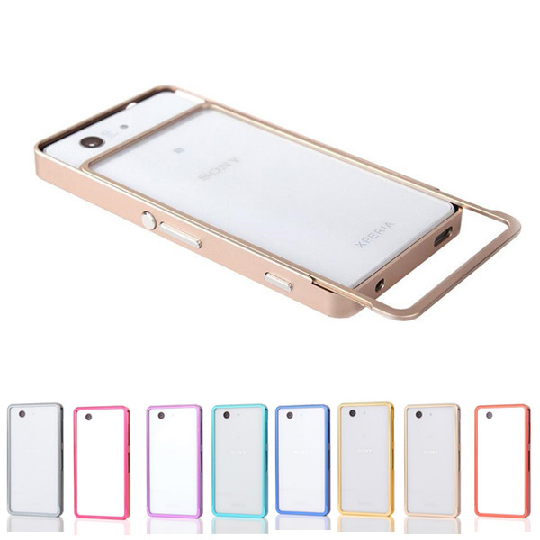 11color push pull for Z3 compact Bumper Case For Sony ...
