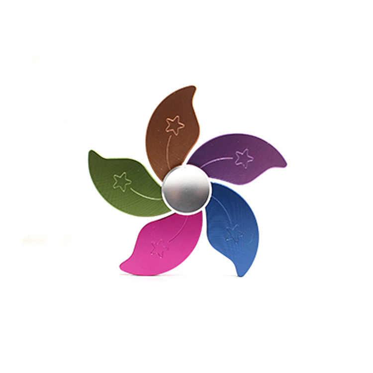 Цветок Звезда Спиннеры металлическая рука счетчик моды EDC игрушки Finger Spinner гироскопа ВДГ фокус игрушка Алюминий сплава дети подарки