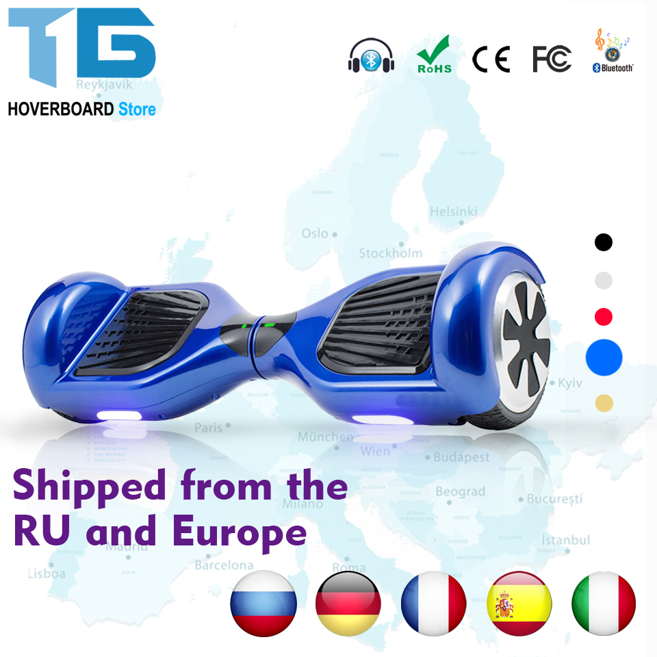 Patin Electrico Self Balancing Hoverboard Scooter Monocycle 6.5''inch Pouce Electric Skateboard Rueda Bicicleta Electrica self balancing two wheeled robot