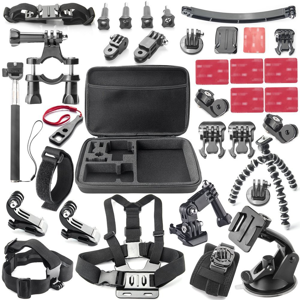 sport cam Accessories kits For Sony FDR X1000V W 4K Action Camera AS200V AS300V HDR AS15